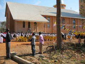 ST MARY, QUEEN OF PEACE - GEITA'S CATHEDRAL CHURCH - INAUGRATED ON 26 September 2010